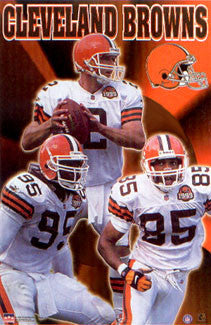 "Cleveland Browns ""Three Stars"" - Starline Inc. 1999"