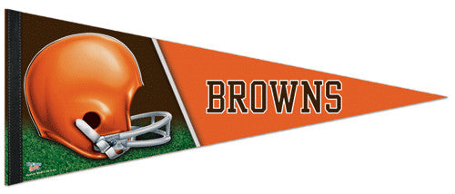 "Cleveland Browns ""Classic"" Premium Felt Collector's Pennant"