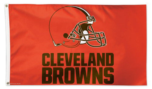 Cleveland Browns Official NFL Football DELUXE 3' x 5' Flag - Wincraft Inc.