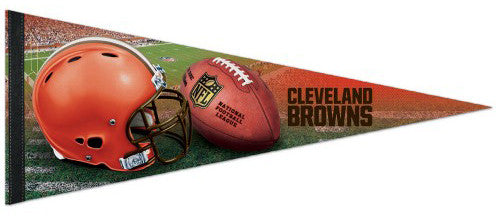 Cleveland Browns Official NFL Logo-Style Premium Felt Collector's Pennant - Wincraft