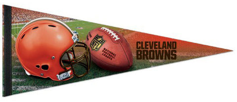 Cleveland Browns Official NFL Football Premium Felt Pennant - Wincraft Inc.