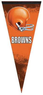 "Cleveland Browns ""Big-Time"" EXTRA-LARGE Premium Felt Pennant"