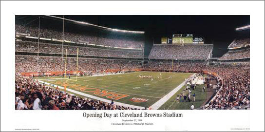"""Opening Day at Cleveland Browns Stadium"" - Everlasting 1999"