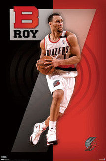 "Brandon Roy ""Big 7"" Portland Trail Blazers Poster - Costacos 2010"