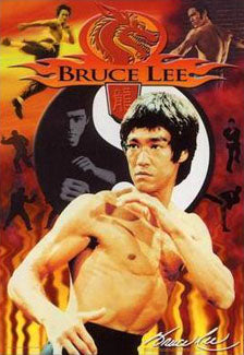 "Bruce Lee ""Red Dragon "" Shaolin Martial Arts Poster - Pyramid Posters"