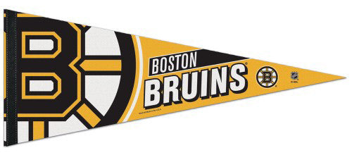 Boston Bruins Official NHL Hockey Team Premium Felt Pennant - Wincraft