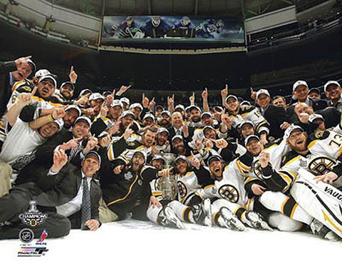 Boston Bruins 2011 Stanley Cup Celebration Premium Poster Print - Photofile