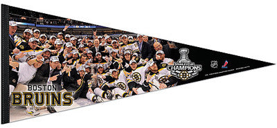 "Boston Bruins ""Celebration 2011"" EXTRA-LARGE Premium Pennant - Wincraft Inc."