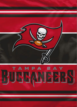 Tampa Bay Buccaneers Official Premium 28x40 NFL Team Banner - BSI Products