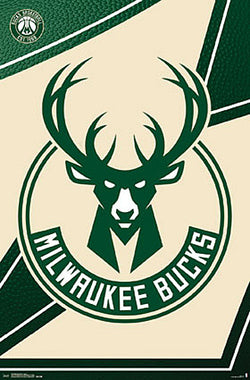 Milwaukee Bucks Official NBA Basketball Team Logo Poster - Trends International