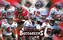 "Tampa Bay Bucs ""Seven Stars"" (1998) Poster - Costacos Sports Inc."
