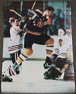 "Johnny Bucyk ""Bruins Action"" (w/Magnuson & Esposito) 1971"