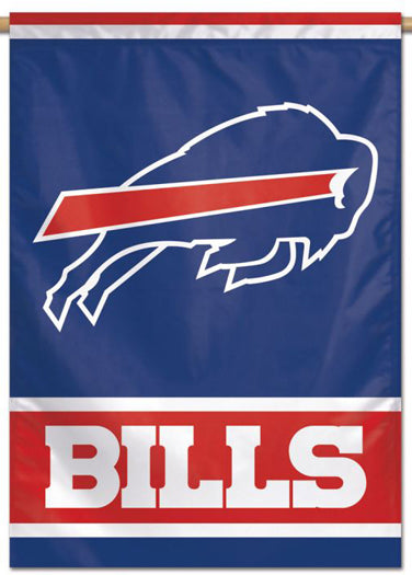 Buffalo Bills Official NFL Team Logo-Style 28x40 Wall BANNER - Wincraft Inc.
