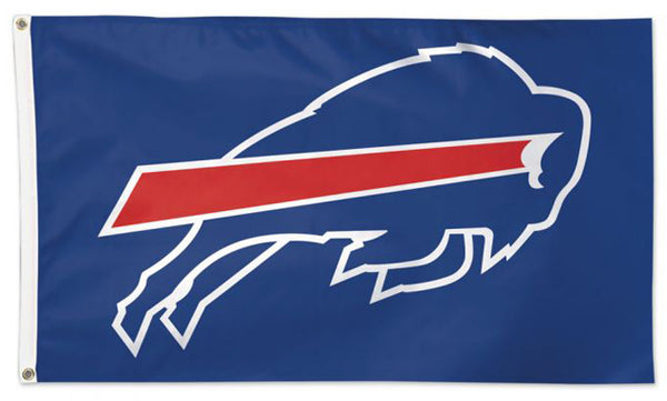 "Buffalo Bills ""Logo on Blue"" Official NFL Football 3'x5' DELUXE Team Flag - Wincraft Inc."