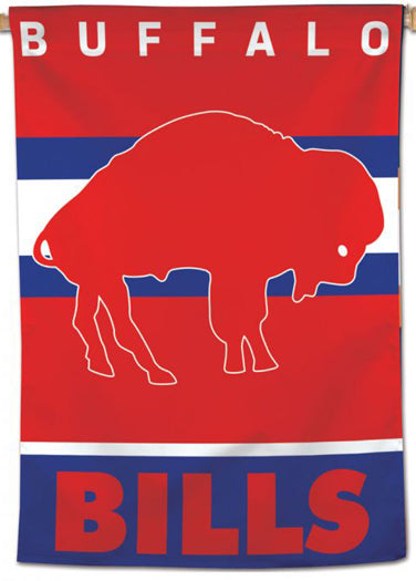 Buffalo Bills Retro 1960s-Style NFL Team Logo 28x40 Wall BANNER - Wincraft Inc.