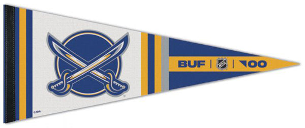 "Buffalo Sabres ""BUF '00"" NHL Reverse-Retro-Style Premium Felt Collector's Pennant - Wincraft"