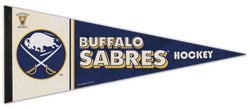 Buffalo Sabres NHL Vintage Hockey Collection Premium Felt Collector's Pennant - Wincraft
