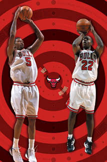"Chicago Bulls ""Bull's Eye"" - Costacos 2003"