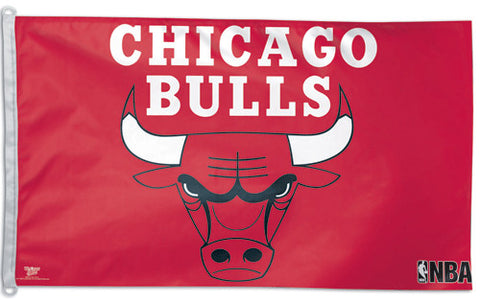Chicago Bulls NBA Basketball Official 3'x5' Team Flag - Wincraft Inc.