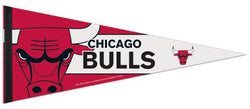 Chicago Bulls Official NBA Logo-Style Premium Felt Collector's Pennant - Wincraft