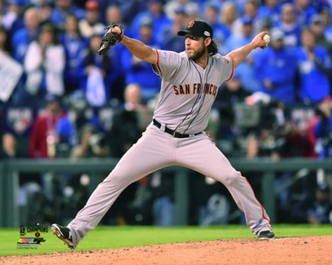 "Madison Bumgarner ""Game 7"" (2014 World Series) Premium Poster - Photofile 16x20"