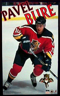 "Pavel Bure ""Action"" Florida Panthers Poster - Starline Inc. 1999"