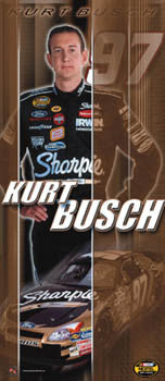 "Kurt Busch ""Sharpie Superstar"" - Racing Reflections 2004"