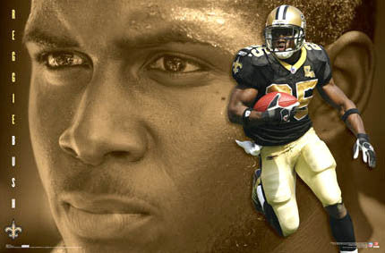 "Reggie Bush ""Golden Star"" - Costacos 2007"