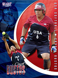 "Crystal Bustos ""Action Star"" - USA Softball 2006"