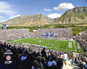 BYU Cougars Gameday at LaVell Edwards Stadium - Photofile 16x20