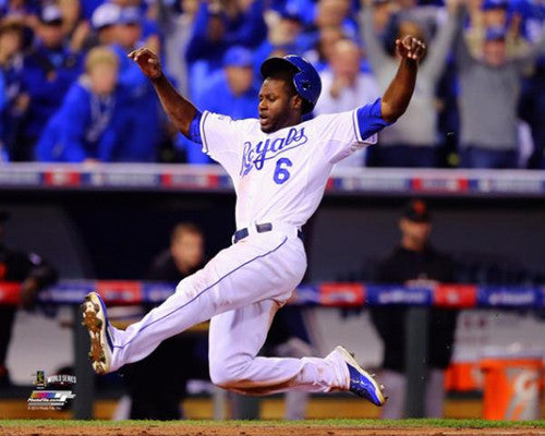"Lorenzo Cain ""Superstar"" (2014 World Series) Premium Poster - Photofile 16x20"