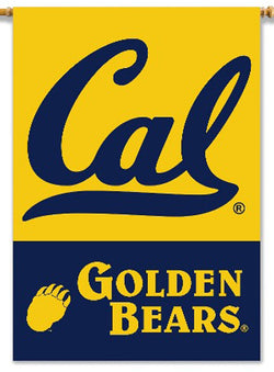 Cal Berkeley Bears Premium NCAA Team 28x40 Banner Flag - BSI Products