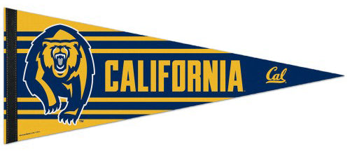 Cal Bears University of California-Berkeley NCAA Athletics Premium Felt Collector's Pennant - Wincraft Inc.