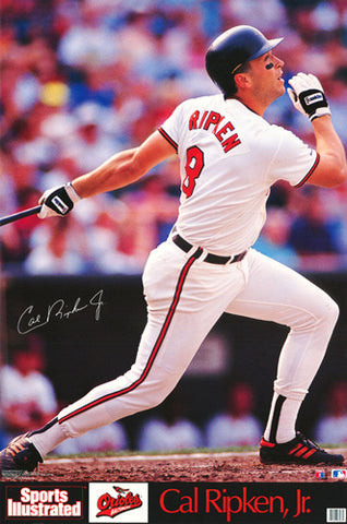 "Cal Ripken Jr. ""Signature Series"" Baltimore Orioles Poster - Marketcom/SI 1989"