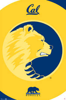 California Golden Bears Logo Poster - Costacos Sports