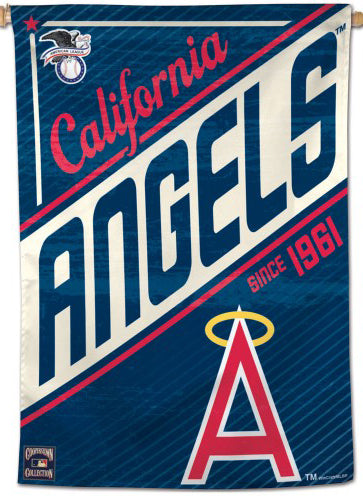 "California Angels ""Since 1961"" Cooperstown Collection Premium 28x40 Wall Banner - Wincraft Inc."