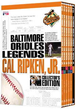 DVD SET: Cal Ripken Jr. Collector's Edition 6-Disc Set