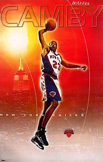 "Marcus Camby ""Slam"" New York Knicks Poster - Costacos 1999"