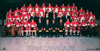 Team Canada 1976 TEAM PHOTO POSTER - Worldsport Properties