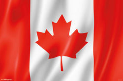Canadian Flag Wall Poster - Trends International