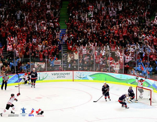"Team Canada Hockey Vancouver 2010 ""Golden Goal"" Premium Poster Print - Photofile 20x24"