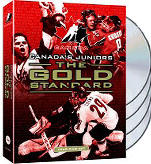 "DVD Set: Canadian National Junior Hockey Team at the World Junior Championships ""The Gold Standard"" 4-Disc Set - VSC"