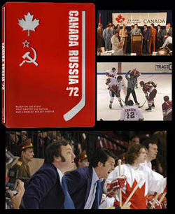 DVD: Canada-Russia 1972 Summit Series CBC Docudrama (3-Disc Red Box)