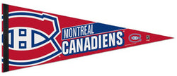 Montreal Canadiens Hockey Official NHL Premium Felt Pennant - Wincraft Inc.