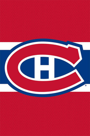 Montreal Canadiens Official NHL Hockey Team Logo Poster - Costacos Sports
