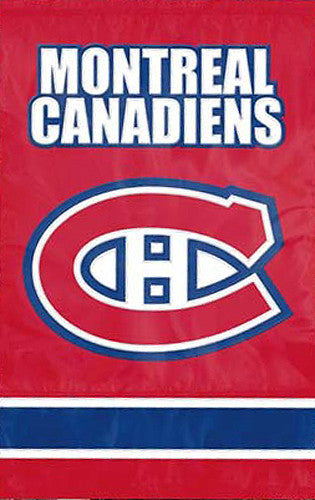 Montreal Canadiens Official NHL Hockey Premium Applique Team Banner Flag - Party Animal