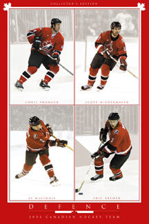 Team Canada 2002 Defence - Costacos Sports