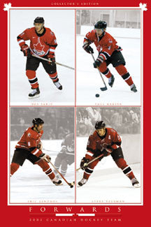 Team Canada 2002 Forwards - Costacos Sports