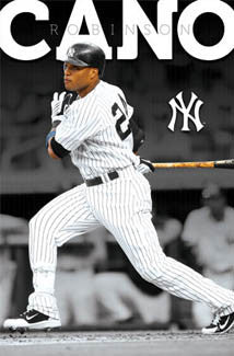 "Robinson Cano ""Superstar"" New York Yankees Poster - Costacos 2011"