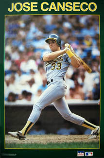 "Jose Canseco ""Solid Border"" - Starline 1987"